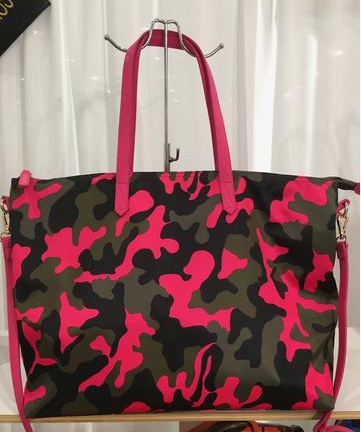 Pink Camo Tote